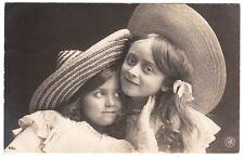 Mädchen mit Strohut Mode Kitsch, children girl fashion style Berlin NPG 1906