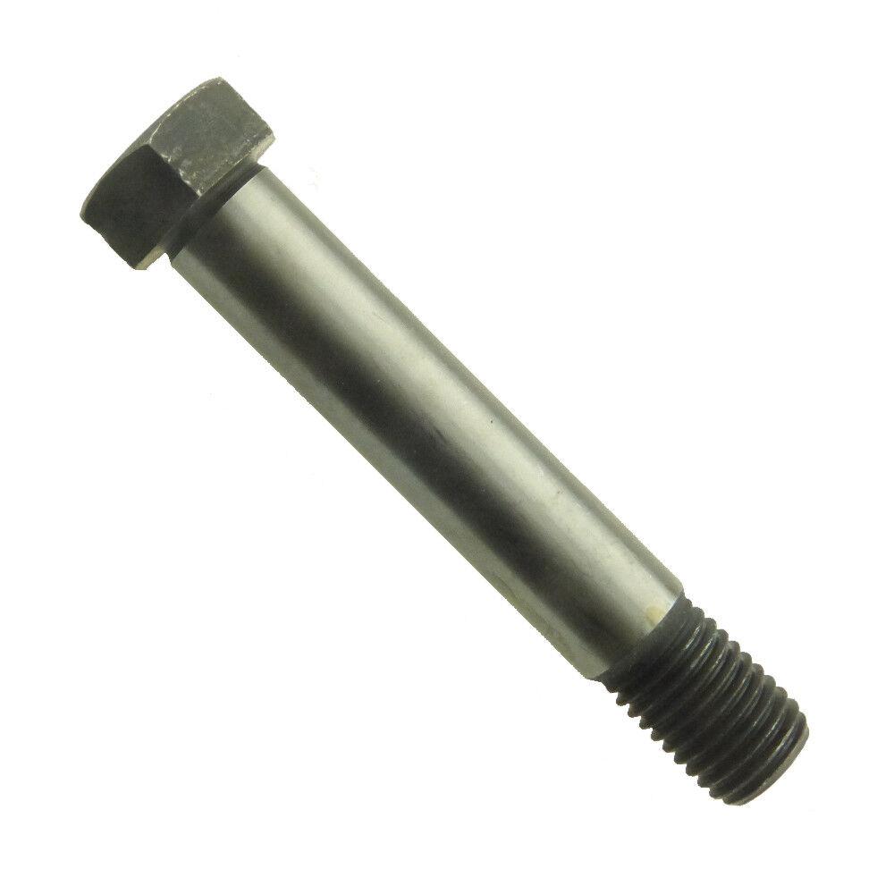 Sechskant-Passschrauben mit kurzem Gewindezapfen DIN 610 10.9 Stahl blank