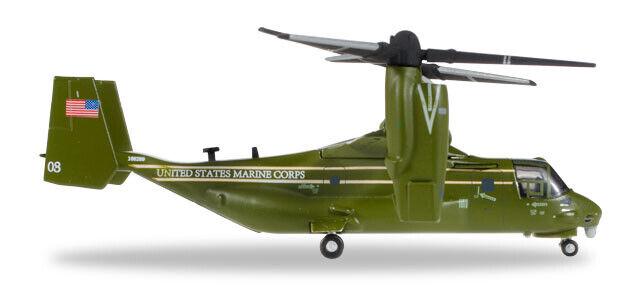 descuento de ventas Herpa Herpa Herpa 557368 U. S. Marine Corps Bell   Boeing MV-22B Osprey HMX-1   barato y de alta calidad