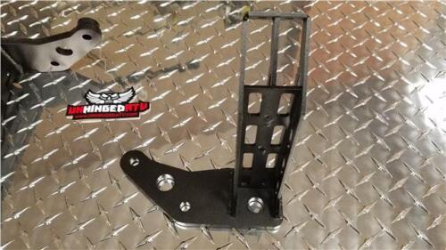 Unhinged ATV 1985-1986 ATC 350X Foot Pegs with Integrated Kick Ups A36 Steel