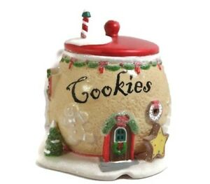 Dept-56-North-Pole-Series-Cookie-Exchange-2011-no-light-or-box-4020208-Christmas