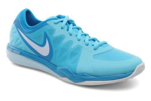 Le scarpe da ginnastica nike doppia fusione blu tr3