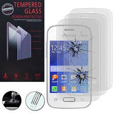 3x vetro carri armati per Samsung Galaxy Pocket 2/Dual Echt Glas Pellicola Protettiva per Display