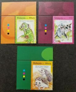 SJ-Exotic-Pets-Malaysia-2013-Animal-Hedgehog-Glider-stamp-color-MNH