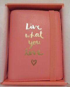 New-Kikki-K-2016-Medium-Watermelon-Personal-Leather-Planner-Live-What-You-Love