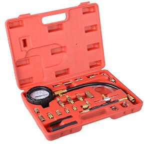 0-140-PSI-Fuel-Injection-Pump-Injector-Tester-Test-Pressure-Gauge-Gasoline-Cars