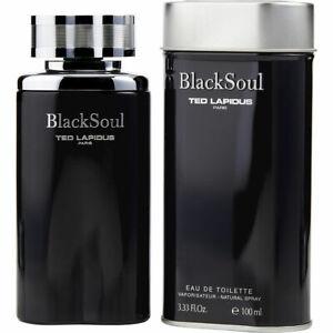 Details about BLACK SOUL 100ml EDT SPRAY FOR MEN BY TED LAPIDUS ------ EAU  DE TOILETTE PERFUME