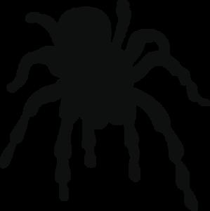 Spider #3 Vinyl Decal Bumper Sticker Spooky Halloween Scary Evil laptop car