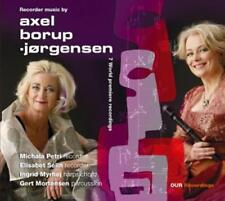 Recorder Music by Axel Borup Jørgensen - Michala Petri CD Album (2014) Neu & Ovp
