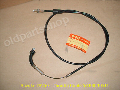 Suzuki GSX-R 1000 Throttle Cable or Pull Cable 2001-2008