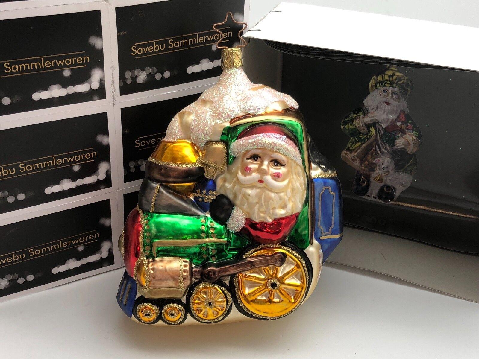 Inge verre     BIRGIT's Christmas Collection cm Nicolas EXPRESS 13 cm Collection   limitée f00842