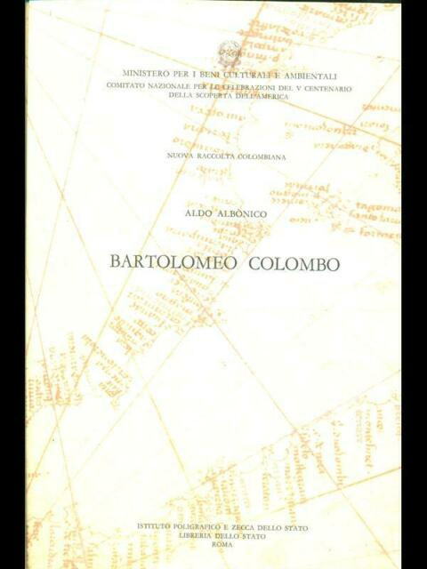 BARTOLOMEO COLOMBO  ALDO ALBONICO ISTITUTO POLIGRAFICO E ZECCA DELLO STATO 1993