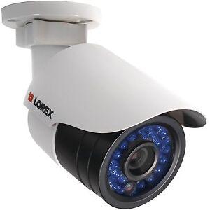 Outdoor-1080p-HD-IP-bullet-camera-netHD-NVR-Lorex-LNB2153B-Network-CAT5e