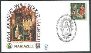 1983 Vaticano Viaggi Del Papa Austria Mariazell - Sv