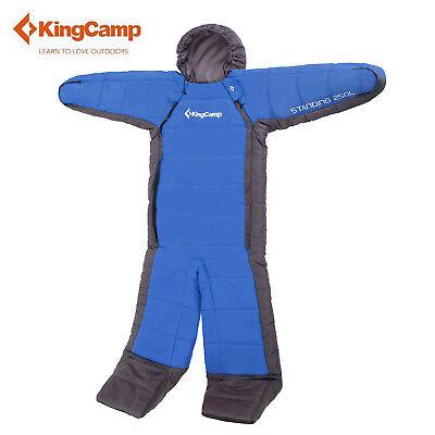 KingCamp Standing Free Walker S/M/L Wearable Sleeping Bag Camping Hiking Single