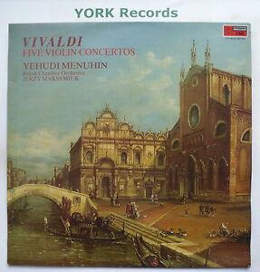 CFP-4522-VIVALDI-Five-Violin-Concertos-MENHUIN-MAKSTMIUK-Ex-LP-Record