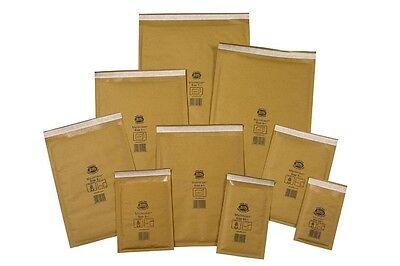 GENUINE GOLD JIFFY PADDED ENVELOPES BAGS CD DVD JL1 JL000 JL00 JL0 10 20 50 100