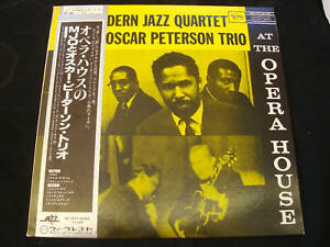 MODERN-JAZZ-QUARTET-OSCAR-PETERSON-TRIO-Live-JAPAN-LP
