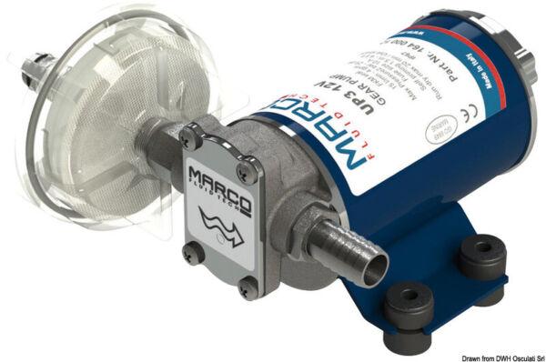 1560 L//h Wasser Diesel Öl Marco Mehrstoff-Zahnradpumpen-Set UP6 12V