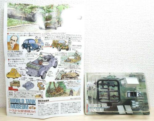 1//144 Takara Kaiyodo World Tank Museum WTM 3 KUBELWAGEN Winter Camo model NEW