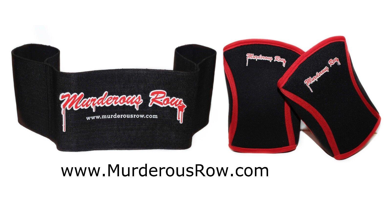 MURDEROUS ROW  Bench Press Sling Shot(XL) + X-Heat Knee Sleeves Set - FAST SHIP  lowest whole network
