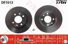 2 Bremsscheibe BREMBO 08.2958.14 passend für RENAULT DACIA