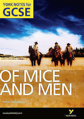 1 of 1 - Of Mice and Men: York Notes for GCSE (Grades A*-G): 2010 by Martin Stephen (Pape