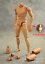 New 1:6 Scale Narrow Shoulder Male Body Action Figure for TTM18 TTM19 USA