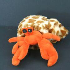 "Hug/'ems Hermit Crab stuffed animal 8/""//20cm soft plush toy Wild Republic NEW"