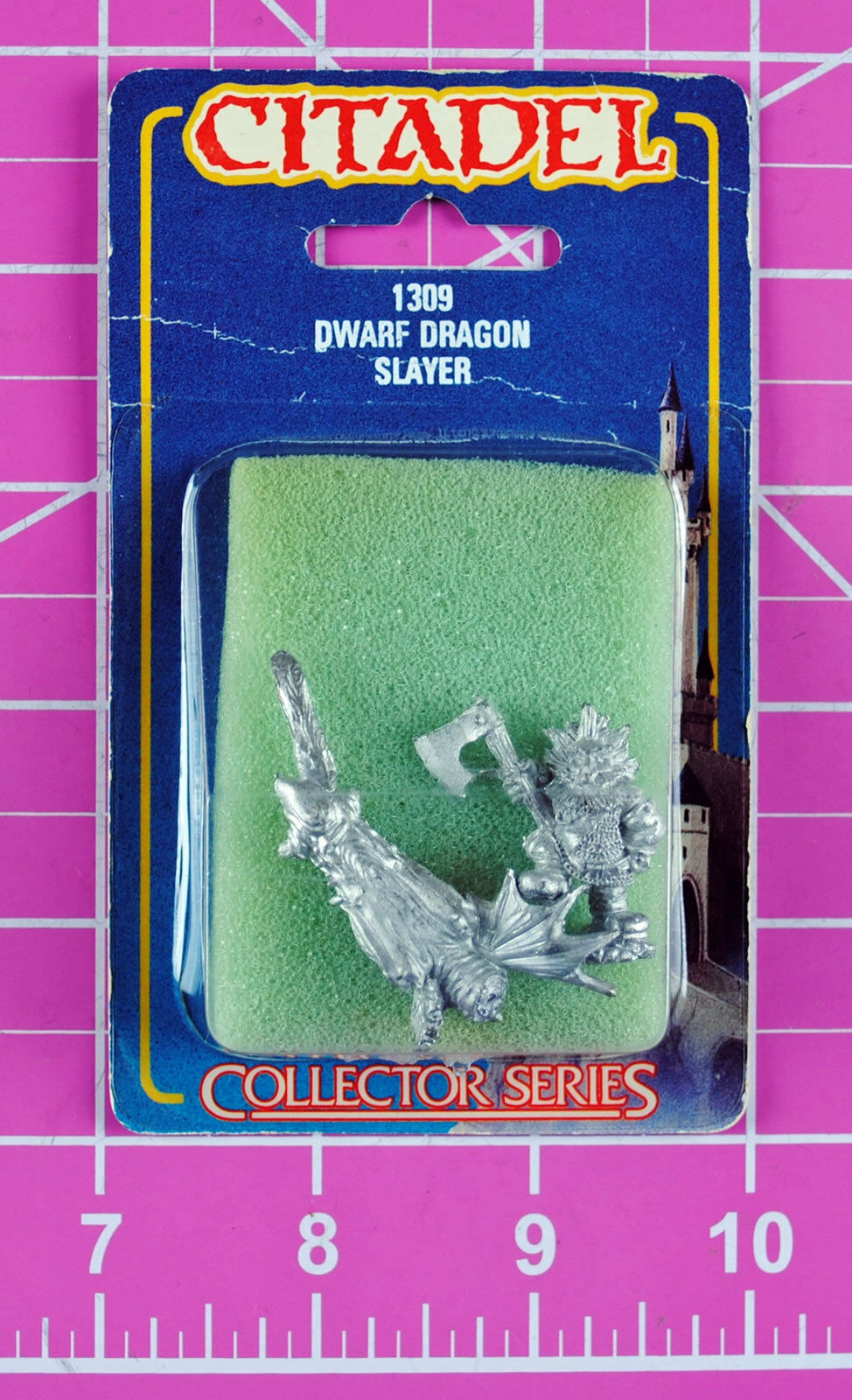 Warhammer Dwarf Dragon Slayer & Severed Head NIB - Rare & OOP - Citadel Dwarfs