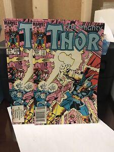 The-Mighty-Thor-339-lot-of-2-High-Grade-1st-App-Stormbreaker-Beta-Ray-Bill
