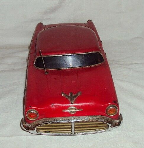 VINTAGE 98 HOLIDAY COUPE TINPLATE JAPAN MADE 1956 BATTERY POWERED POWERED POWERED OLD MOBILE a37b56