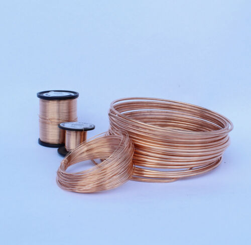 BRONZE WIRE UNCOATED UNPLATED  SOLID BRONZE WIRE FULL SIZE RANGE 500GRAMS