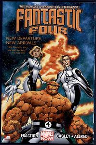 Fantastic-Four-Vol-1-New-Depature-New-Arrivals-TPB-Graphic-Novel-Marvel-Comics