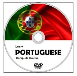 Learn-to-speak-PORTUGUESE-COMPLETE-Language-Course-DVD-MP3-AUDIO-PDF-TEXTBOOKS