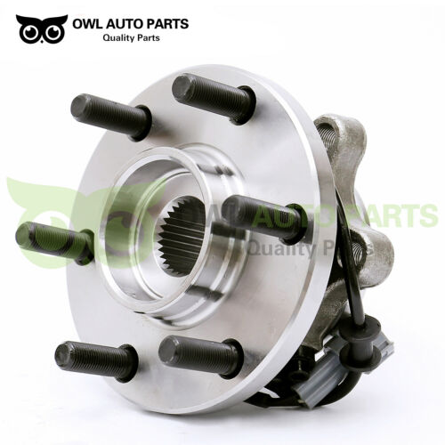 515065 Front Wheel Bearing And Hub Assembly For Nissan Frontier 6 Lug 4WD w// ABS