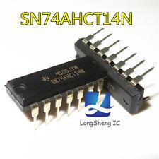 5PCS SN74AC14N IC HEX SCHMITT-TRIG INV 14-DIP AC14 74AC14