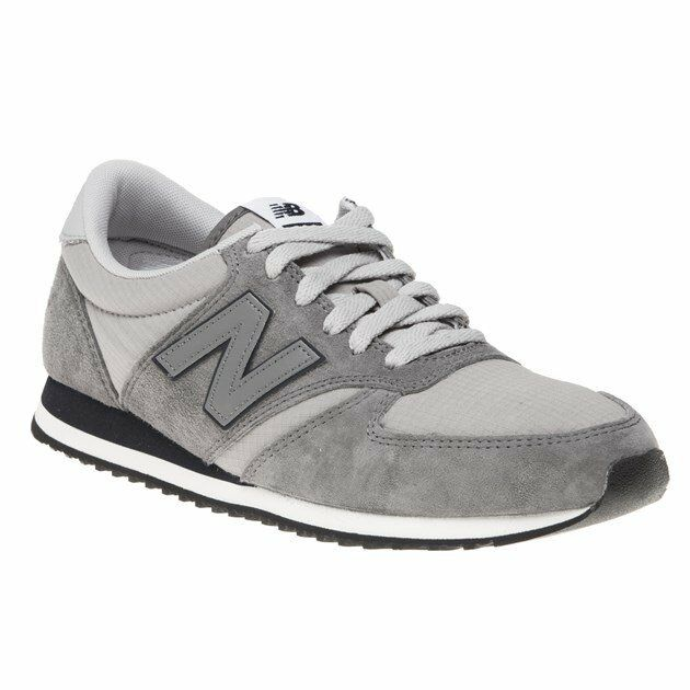New Homme New Balance  Gris  420 Suede Trainers Retro Lace Up