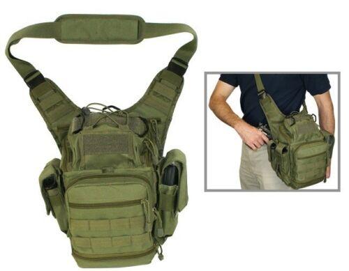 Messanger Shoulder Bag EMT First Responder Concealed Carry Black CVFRB2918B