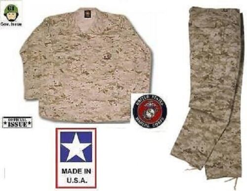 Airsoft US Marines USMC MARPAT Desert Digital MCCUU Tarnanzug Hose Jacke SL Small Long Funsport