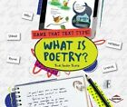 What Is Poetry? by Trudi Strain Trueit (Paperback / softback, 2014)