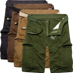 Men/'s Cargo Shorts Military Army Combat Camo Half Pants Casual Outdoor Trousers