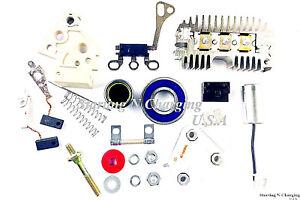Details about Alternator 10SI Repair Rebuild Kit Delco Chevy GM Regulator  Brushes Rectifier