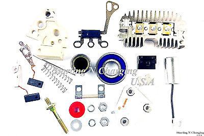 Alternator 10SI Repair Rebuild Kit Delco Chevy GM Regulator Brushes  Rectifier | eBayeBay