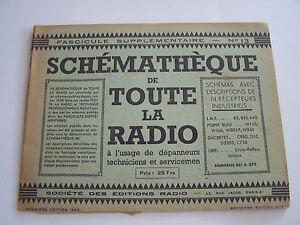 Schematheque De Toute La Radio , Schemas Recepteurs Pour Depanneurs .eo N°13 A4b86byp-07222048-652792168