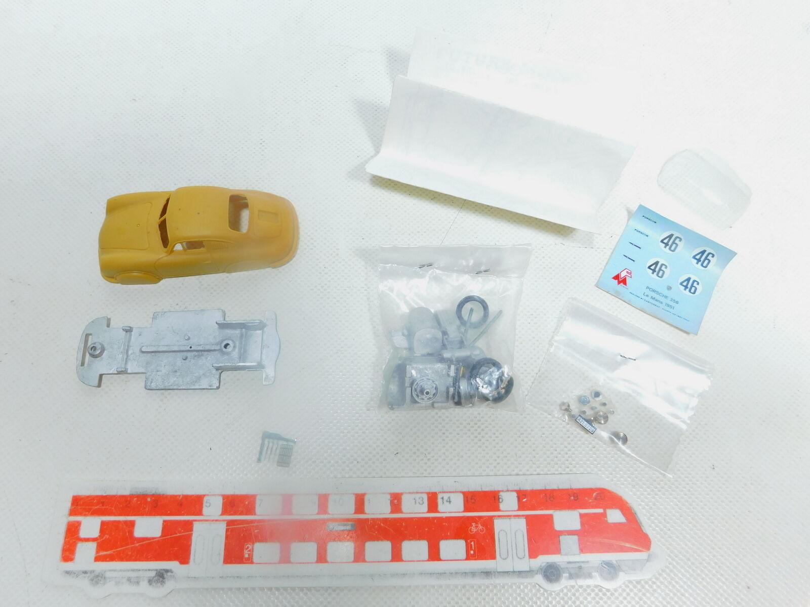 Bx779-0, 5  Future Models 1 43 Kit Porsche 356 le Mans 51 1951 Unbuilt