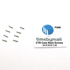 For CALIBRE DE CARTIER 3299 Watch Case Back Screws Spare Part Set Of Eight P36M