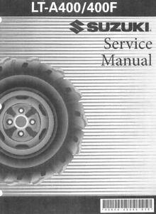 suzuki eiger lt a400 lta400 lta 400 2006 2007 service manual on cd rh ebay com suzuki eiger service manual free download suzuki eiger service manual free
