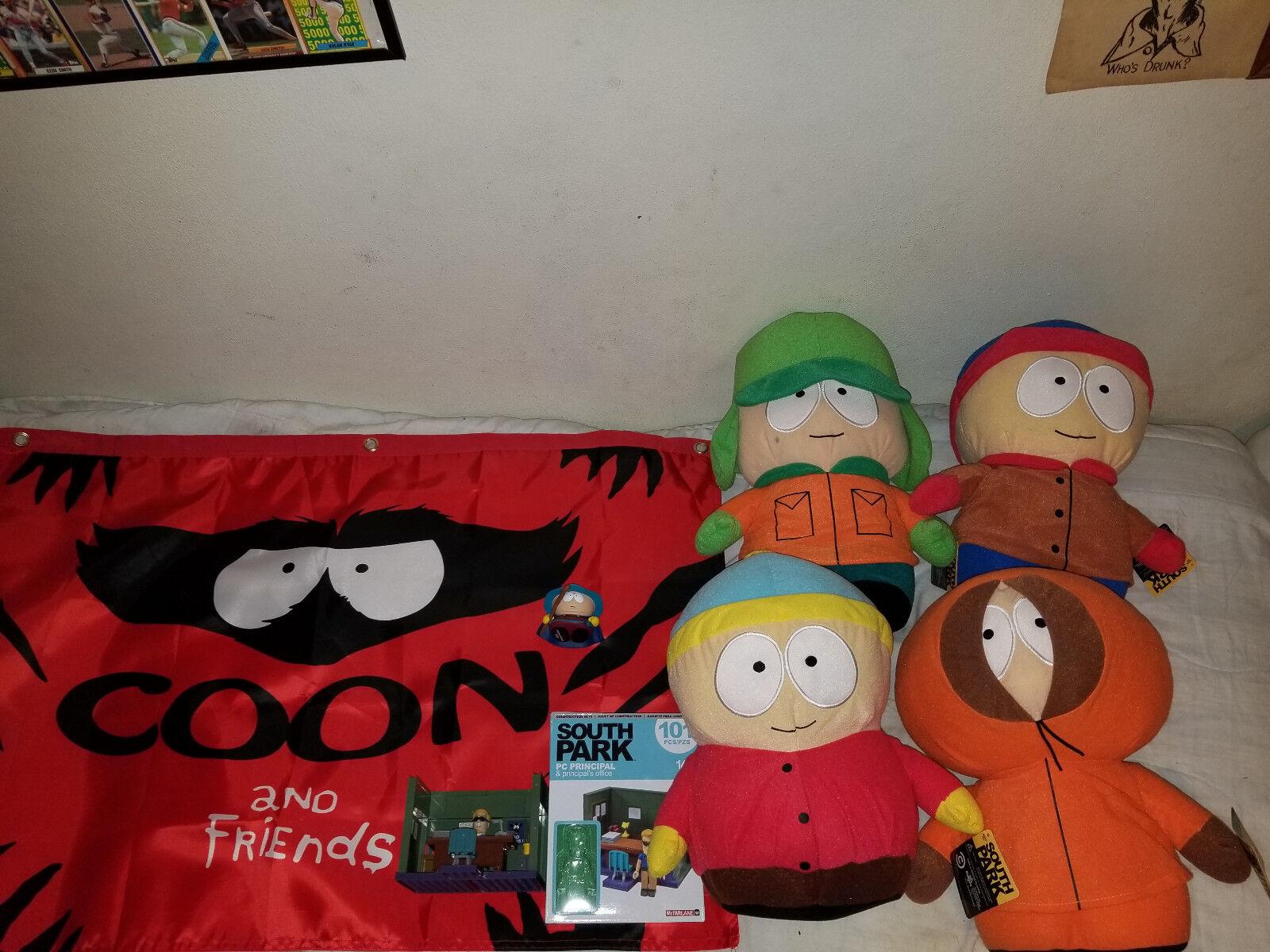 South Park Park Park Plush And Collectibles Bundle d0317a