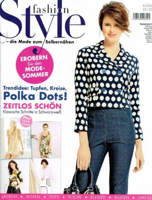 Fashion Style Mode Zum Selbernähen 05/2015 Nähheft | eBay